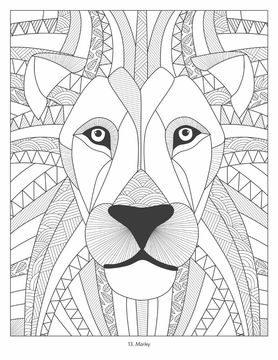 Shanti Sparrow: Colorful Creatures Coloring Book