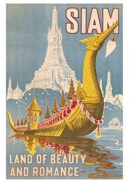 Siam Land of Beauty and Romance Postcard