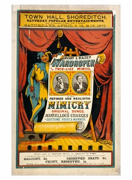 Sideshows & Spectacles: Victorian Entertainment Book of Postcards
