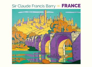 Sir Claude Francis Barry: France Boxed Notecards