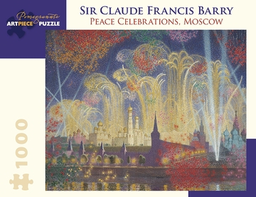 Sir Claude Francis Barry: Peace Celebrations, Moscow 1000-Piece Jigsaw Puzzle