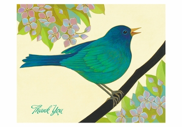 Siri Schillios: The Blue Bird of Happiness Boxed Thank You Notes