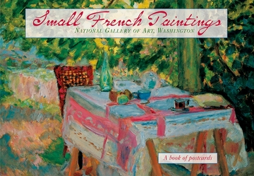 Small French Paintings Book of Postcards