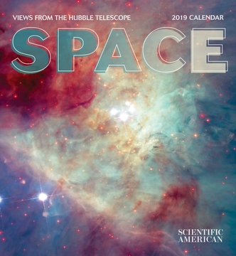 Space: Views from the Hubble Telescope 2019 Wall Calendar