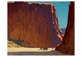 Sunset, Canyon de Chelly Notecard