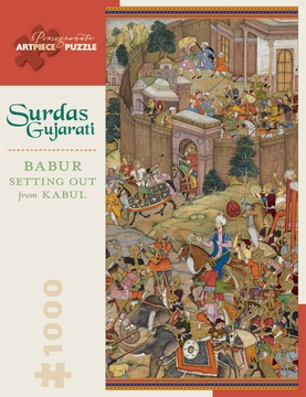 Surdas Gujarati: Babur Setting Out from Kabul 1,000-piece Jigsaw Puzzle
