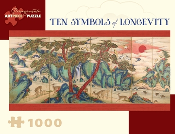 Ten Symbols of Longevity 1,000-piece Jigsaw Puzzle