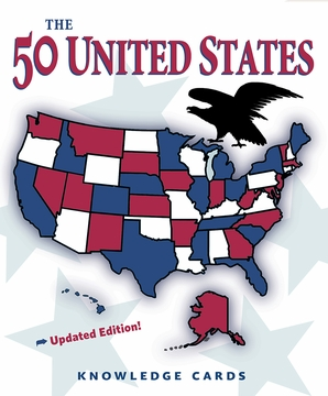 The 50 United States Knowledge Cards (Updated Edition)