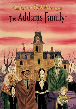 "The Addams Family 5 x 7"" Notepad"