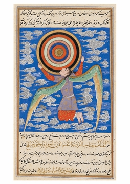 The Angel Ruh Holding the Celestial Spheres Postcard