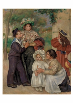 The Artist's Family Notecard