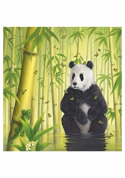 The Bamboo Forest Notecard