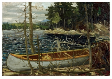 The Canoe Notecard