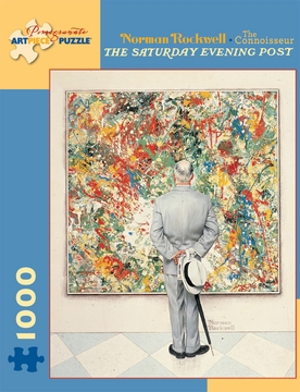Norman Rockwell: The Connoisseur 1,000-piece Jigsaw Puzzle