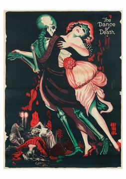 The Dance of Death Postcard