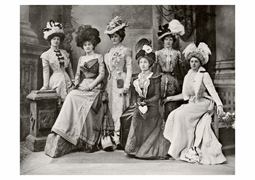 The Gaiety Girls Postcard