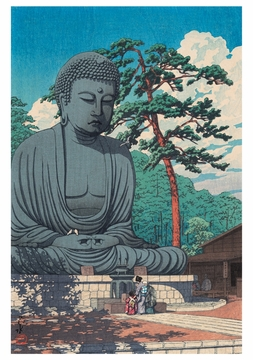 The Great Buddha, Kamakura Notecard