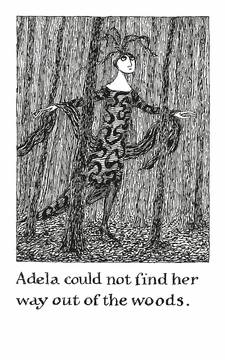 The Helpless Doorknob: A Shuffled Story by Edward Gorey