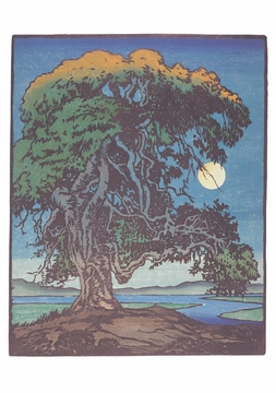 The Landmark Oak Notecard