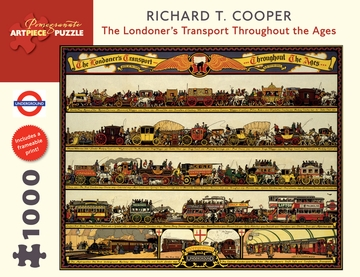 Richard T. Cooper: The Londoner's Transport Throughout the Ages 1000-Piece Jigsaw Puzzle
