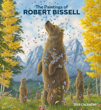 The Paintings of Robert Bissell 2018 Wall Calendar