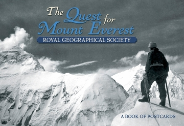 The Quest for Mount Everest Book of Postcards