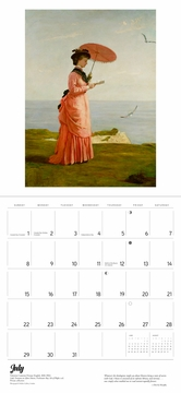 The Reading Woman 2018 Wall Calendar