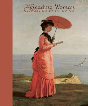 The Reading Woman Deluxe Address Book