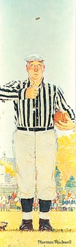 The Referee (The Toss) Bookmark