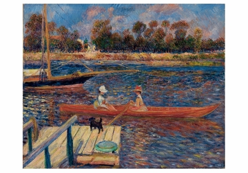 The Seine at Argenteuil Notecard