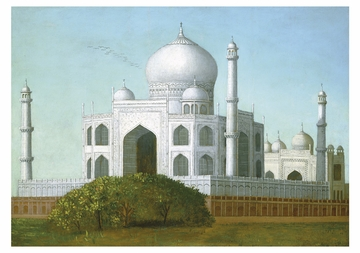 The Taj Mahal Notecard