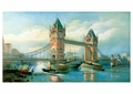 The Tower Bridge, London Postcard