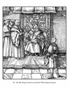 The White King: Tales of Maximilian I: A Coloring Book of Woodcuts by Hans Burgkmair