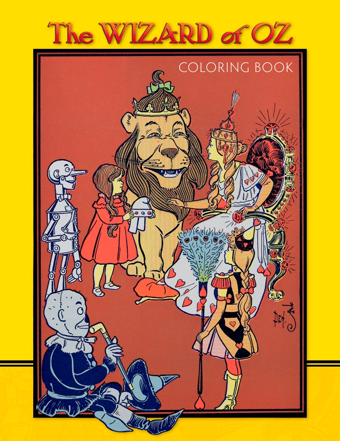 the wizard of oz coloring book - Wizard Of Oz Coloring Book
