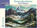 Thomas Hart Benton: Trail Riders 1000-Piece Jigsaw Puzzle