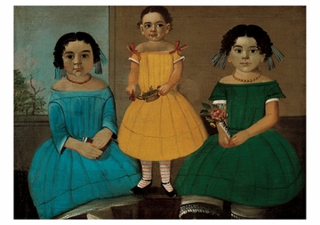 Three Sisters of the Copeland Family Notecard