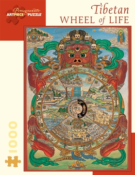 Tibetan Wheel of Life 1,000-piece Jigsaw Puzzle