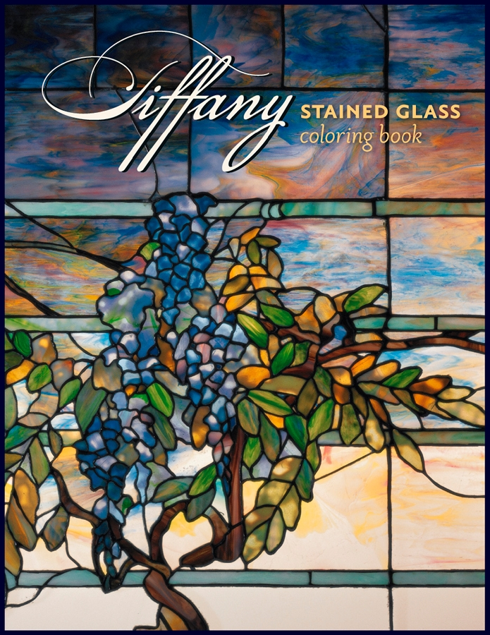 tiffany stained glass coloring book - Stained Glass Coloring Books