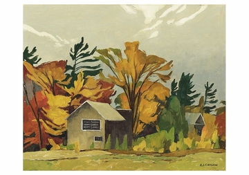 Tom Thomson's Shack Notecard