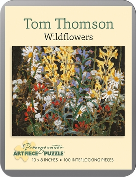 Tom Thomson: Wildflowers 100-piece Jigsaw Puzzle