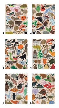 Charley Harper: Tree of Life Block Puzzle