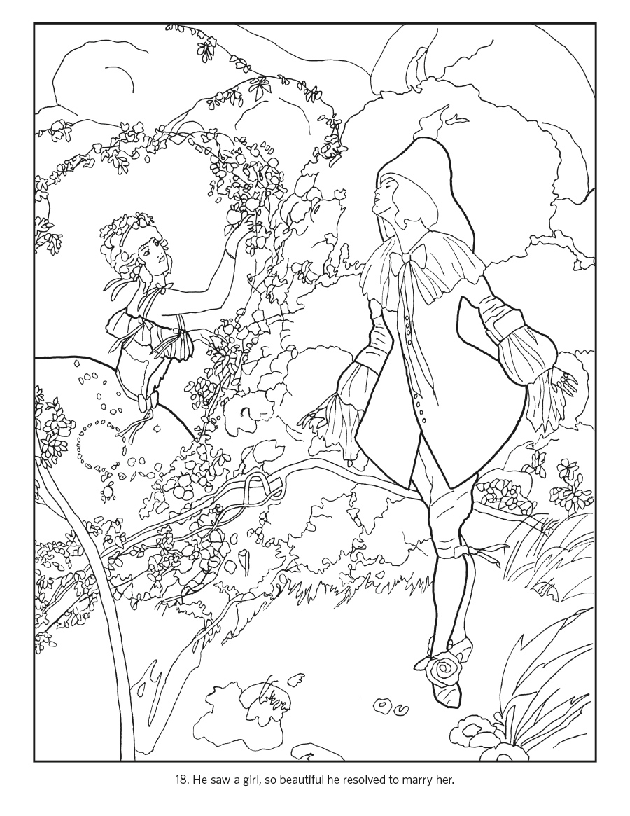 Umberto Brunelleschi: Stories from Once Upon a Time Coloring ...