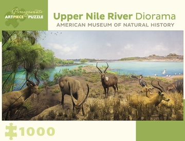 Upper Nile River Diorama 1000-Piece Jigsaw Puzzle