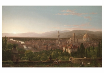 View of Florence Notecard