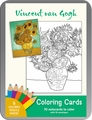 Vincent van Gogh Coloring Cards