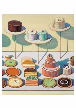 Wayne Thiebaud: Confections Boxed Notecards