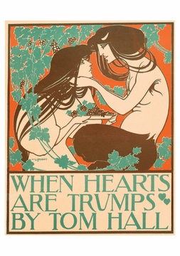When Hearts Are Trumps Postcard