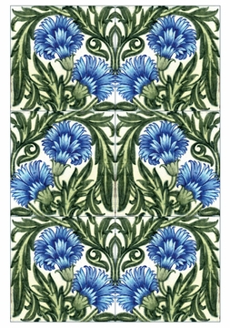 William De Morgan: Tile Designs Boxed Notecards