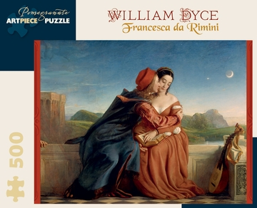 William Dyce: Francesca da Rimini 500-piece Jigsaw Puzzle