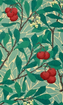 "William Morris' Arbutus 3 x 5"" Notepad"